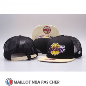 Casquette Los Angeles Lakers Snapback Noir