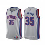 Maillot Detroit Pistons Christian Wood Statement Gris