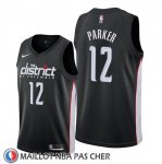 Maillot Washington Wizards Jabari Parker Ville Noir