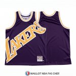 Maillot Los Angeles Lakers Mitchell & Ness Big Face Volet