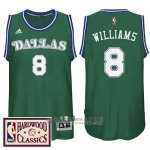 Maillot Dallas Mavericks Williams #8 Vert