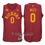 Maillot Hickory Pacers Miles #0 Rouge
