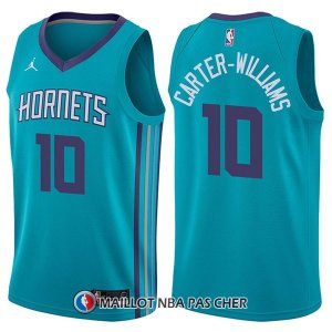 Maillot Charlotte Hornets Michael Carter Williams Icon 10 2017-18 Vert
