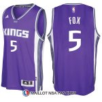 Maillot Sacramento Kings De'aaron Fox Road 5 2017-18 Volet