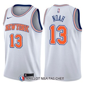 Maillot New York Knicks Joakim Noah Statement 13 2017-18 Blanc