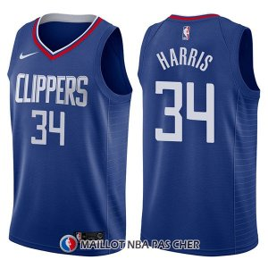 Maillot Los Angeles Clippers Tobias Harris Icon 34 2017-18 Bleu