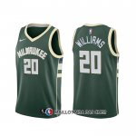 Maillot Milwaukee Bucks Marvin Williams Icon Vert