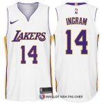 Maillot Authentique Los Angeles Lakers Ingram 2017-18 14 Blanc