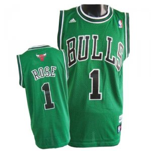 Maillot Vert Rose Chicago Bulls Revolution 30