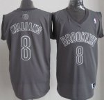 Maillot Williams Brooklyn Nets #8 Gris