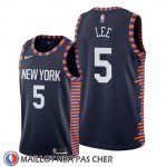 Maillot New York Knicks Courtney Lee Ville Edition Bleu