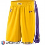 Short Los Angeles Lakers Icon 2018-19 Jaune