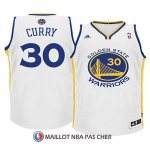Maillot Enfant Curry Golden State Warriors 30 Blanc