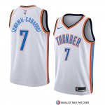 Maillot Oklahoma City Thunderr Timothe Luwawu Cabarrot Association 2018 Blanc