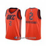 Maillot Oklahoma City Thunder Shai Gilgeous-alexander Earned Orange