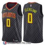 Maillot Atlanta Hawks Antonius Cleveland No 0 Icon 2018 Noir