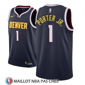 Maillot Denver Nuggets Michael Porter Jr. Icon 2018-19 Bleu