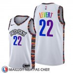 Maillot Brooklyn Nets Caris Levert Ville Lgbtq Pride Night 2020 Blanc