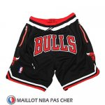 Short Chicago Bulls Just Don Noir