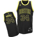 Maillot Alimentation Mode Celtics Pierce 34 Noir