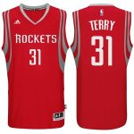 Maillot Rockets Terry 31 Rouge