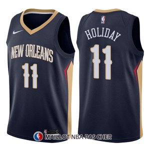 Maillot New Orleans Pelicans Jrue Holiday Icon 11 2017-18 Bleu