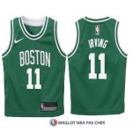 Maillot Authentique Enfant Boston Celtics Irving 2017-18 11 Vert