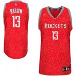 Maillot Crazy Light Leopard Rockets Harden 13 Rouge