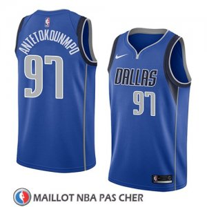 Maillot Dallas Mavericks Kostas Antetokounmpo Icon 2018 Bleu