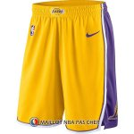 Short Los Angeles Lakers 2017-18 Jaune