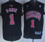 Maillot D-Rose Chicago Bulls #1 Noir