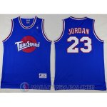 Maillot NBA film Space Jam Jordan Bleu