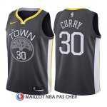 Maillot Enfant Golden State Warriors Stephen Curry Statement 2017-18 Gris