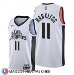 Maillot Los Angeles Clippers Maurice Harkless Classic 2019-20 Blanc