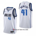 Maillot Dallas Mavericks Dirk Nowitzki Association Blanc