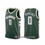 Maillot Milwaukee Bucks Donte Divincenzo Icon Vert