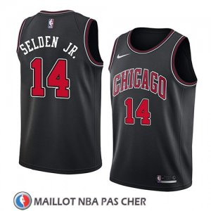 Maillot Chicago Bulls Wayne Selden Jr. Statement 2018 Noir
