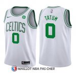 Maillot Enfant Boston Celtics Jayson Tatum Association 2017-18 0 Blanc