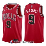 Maillot Chicago Bulls Antonio Blakeney Icon 9 2017-18 Rouge