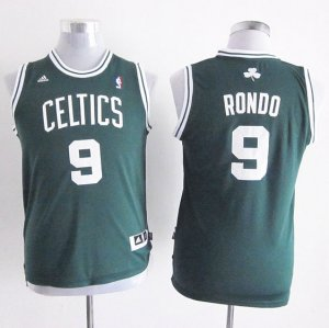 Maillot Enfant de Vert Rondo Boston Celtics Revolution 30