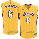 Maillot Los Angeles Lakers Clarkson #6 Jaune