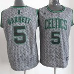 Maillot Garnett Boston Celtics #5 Static Fashion