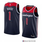 Maillot Washington Wizards Austin Rivers Statement 2018 Noir2