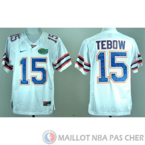 Maillot NCAA Tim Tebow Blanc