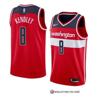 Maillot Washington Wizards Tiwian Kendley Icon 2018 Rouge