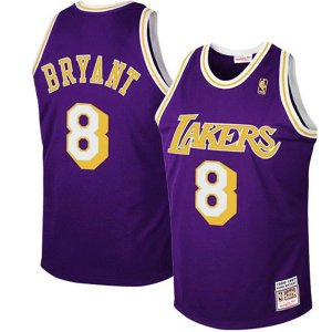 Maillot Retro Lakers Bryant 8 Pourpre