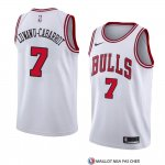 Maillot Chicago Bulls Timothe Luwawu-cabarrot Association 2018 Blanc