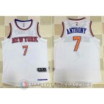 Maillot Authentique New York Knicks Blanc