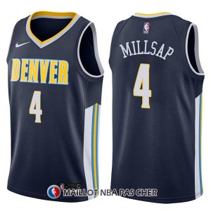 Maillot Denver Nuggets Paul Millsap Icon 4 2017-18 Bleu