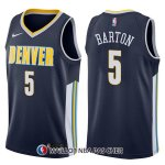 Maillot Denver Nuggets Will Barton Icon 5 2017-18 Bleu